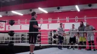 Nick Dinsmore, NXT Superstars at WWE Performance Center 2014
