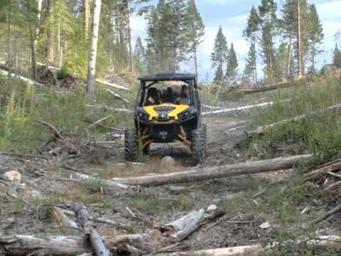 001.mpg lifted can am commander x in the sticks youtube