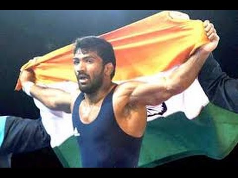 Yogeshwar Dutt : Gold medal in Asian Games for freestyle wrestling from India