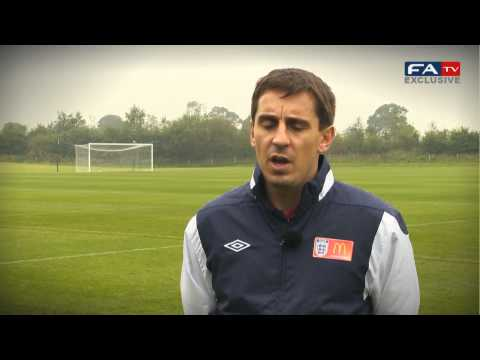 Gary Neville on getting the job done and persistance - England v San Marino 12-10-12 | FATV