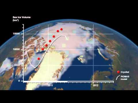 Arctic Sea Ice Changes 2011-2012