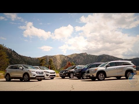 watch 2015 2016 Midsize Suv Comparison Kelley Blue Book video