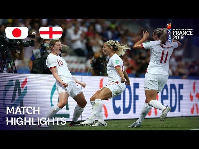 Japan v England - FIFA Women's World Cup France 2019™ thumbnail