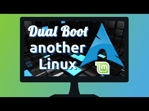 Dual boot Arch Linux with another Linux (os-prober)