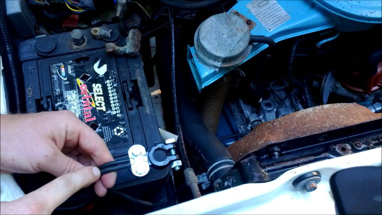 Car Battery Cable Replacement : How to replace battery terminals youtube