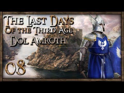 [8] GONDOR-HARADRIM NAVAL BATTLE! - M&B: Warband (The Last Days - Dol Amroth)