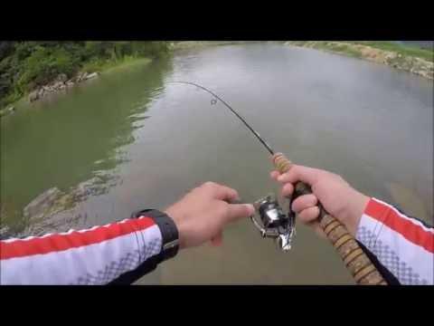 ловить рыбу ультралайтом видео