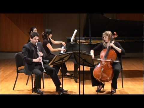 Boetti Trio. Brahms Clarinet Trio. op. 114. 2d movement