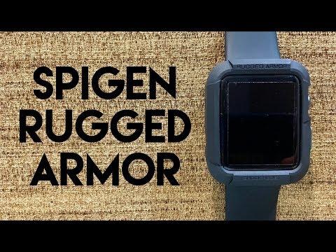 Spigen Rugged Armor Case for Apple Watch Series 1/Series 2
