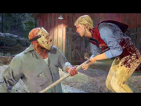 FRIDAY THE 13TH GAME Gameplay Jason Voorhees Kills Trailer