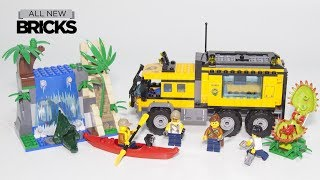 Lego City 60160 Jungle Mobile Lab Speed Build