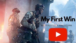 My first win SERBIAN SQUAD battlefield v firestorm incredibly fun...High kill squad game.