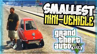 GTA 5 Mods: WORLDS SMALLEST CAR MOD! GTA 5 Modded Cars (GTA 5 PC Mods Gameplay)
