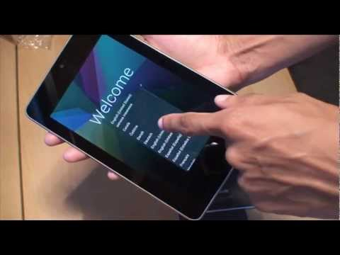 Nexus 7 Tablet Unboxing / Setup / First Hands / Review