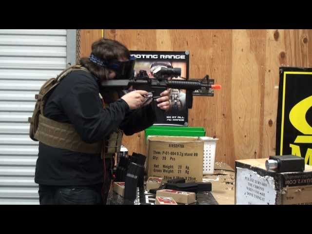 Airsoft GI Uncut - Lancer Tactical Full Length Stress Test