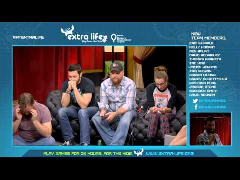Rooster Teeth Extra Life 2015 Recruitment Stream Hour 3
