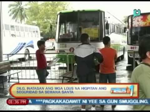 News@1: DILG, inatasan ang mga LGUs na higpitan ang seguridad sa Semana Santa