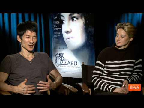 White Bird In A Blizzard Interview With Shailene Woodley, Gregg Araki And Christopher Meloni