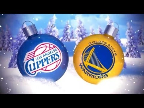Clippers vs Warriors Christmas Day - NBA 2K14