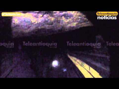 Una cámara de Teleantioquia Noticias estuvo al interior de la mina La Cancha de Amagá