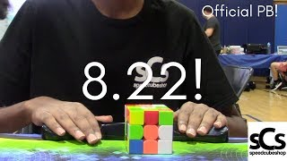 8.22 Official Rubik's Cube Average! | 3rd Place at Kew Forest Open 2018