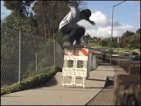 """Rodrigo Lima"" and ""Rodrigo Petersen"" 2002-2003 SYN Skateboard Clips"