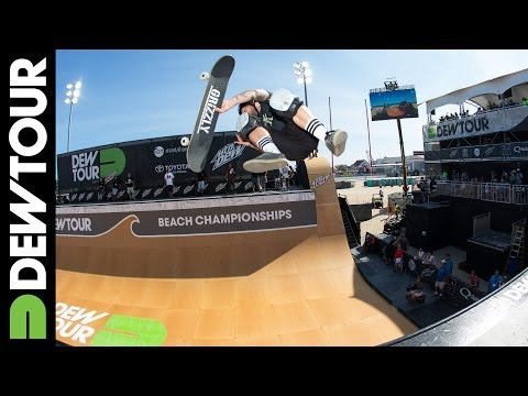Pierre-Luc Gagnon Wins Skate Vert Final, 2014 Dew Tour Beach Championships