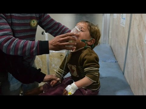U.S. is 'certain' Syria used chlorine gas in at...
