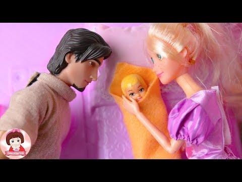 ละครบาร์บี้ รวมตอน เรื่อง เจ้าหญิงราพันเซล นิทานสนุกๆ ตุ๊กตาบาร์บี้ บ้านบาร์บี้