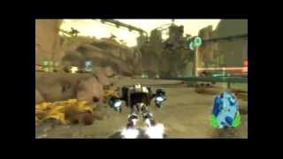 Ratchet e Clank Q Force gameplay Raffineria Korgon