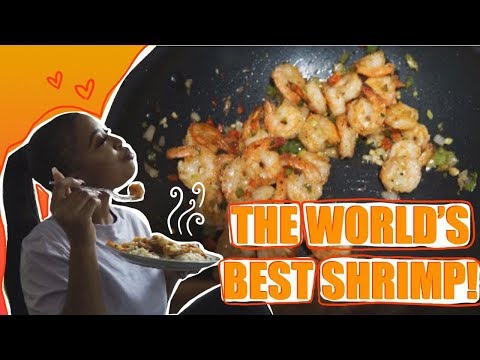 Cooking With Paris: THE WORLDS BEST GARLIC - PEPPER SHRIMP