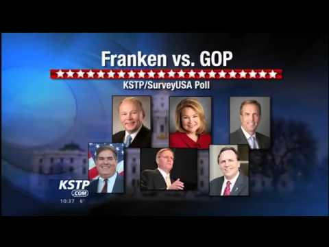 KSTP/SURVEYUSA POLL: Franken Leads GOP Challengers