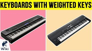 10 Best Keyboards With Weighted Keys 2019