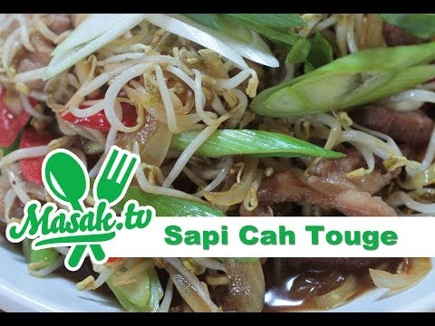 Sapi Cah Taoge | Resep #154 video