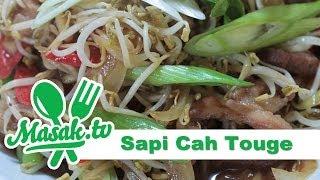 Sapi Cah Tauge | Resep #154