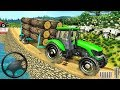 Real Tractor Trolley Cargo Farming Simulation Game - Android gameplay thumbnail