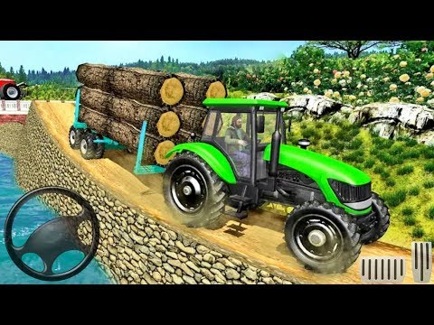 Real Tractor Trolley Cargo Farming Simulation Game - Android gameplay