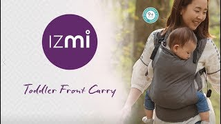 Izmi Toddler Carrier | Front Carry Position