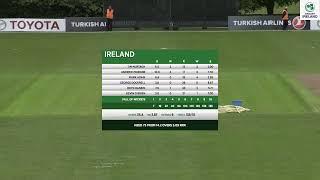 LIVE Cricket - Ireland vs Afghanistan 1st ODI