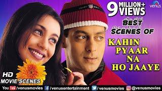 Best Scenes Of Kahin Pyaar Na Ho Jaaye | Salman Khan | Rani Mukerji | Best Bollywood Romantic Scenes
