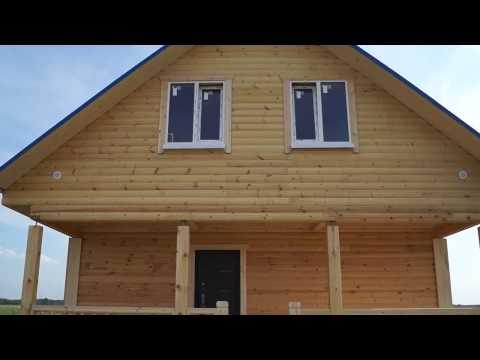 Строительство дома из бруса в Нижнем Новгороде
