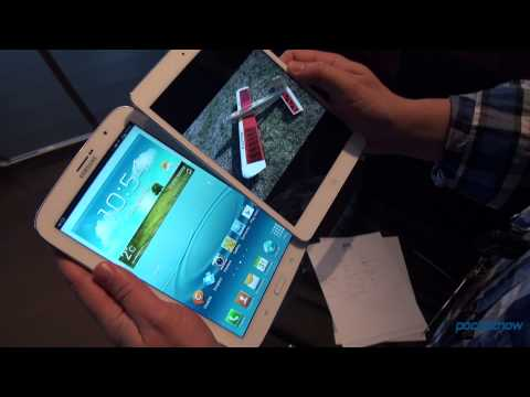 Samsung Galaxy Note 8.0 vs iPad Mini vs Nexus 7: Quick Comparison