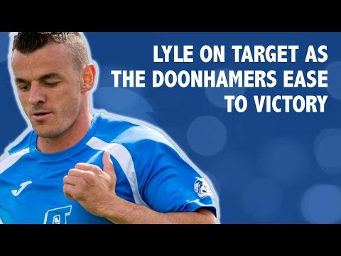 Lyle on target as The Doonhamers ease to victory