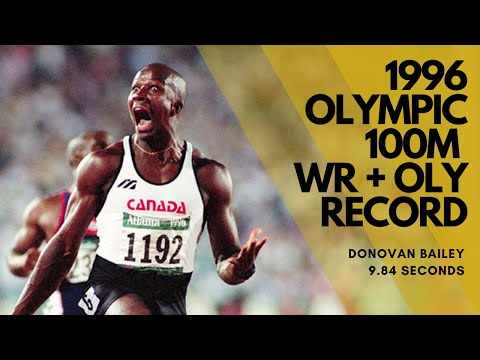 1996 Olympic 100m Final