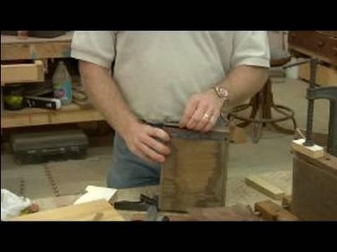 salvaging used wood veneer