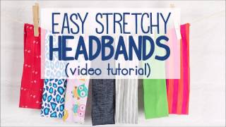 Stretchy Headband Tutorial