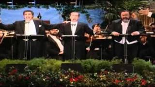 Los Tres Tenores Nessun Dorma Turandot Puccini 1994 Los Angeles