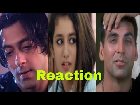 Priya Prakash Varrier Video Celebrity funny Reaction | Oru Adaar Love Song Video