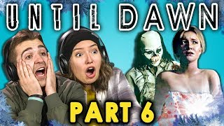 BATH TIME CUT SHORT! | UNTIL DAWN - Part 6 (React: Let's Plays)