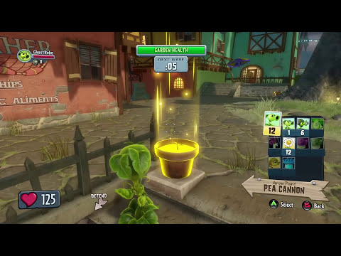 Plants vs. Zombies Garden Warfare Walkthrough PART 1 Let's Play Gameplay Playthrough (Xbox One)